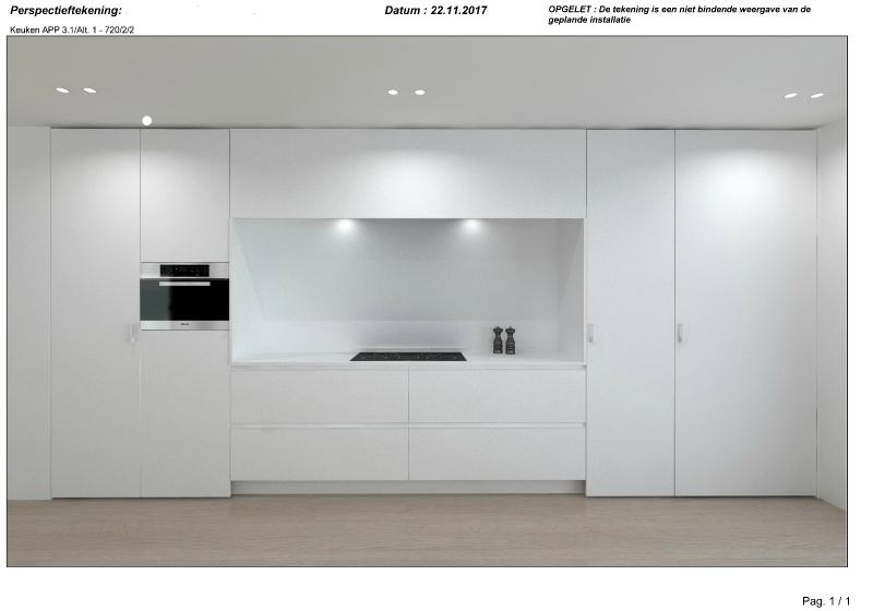 Exclusief nieuwbouw tweeslaapkamer appartement op unieke ligging te Brugge. -  - NVB096app2,1
