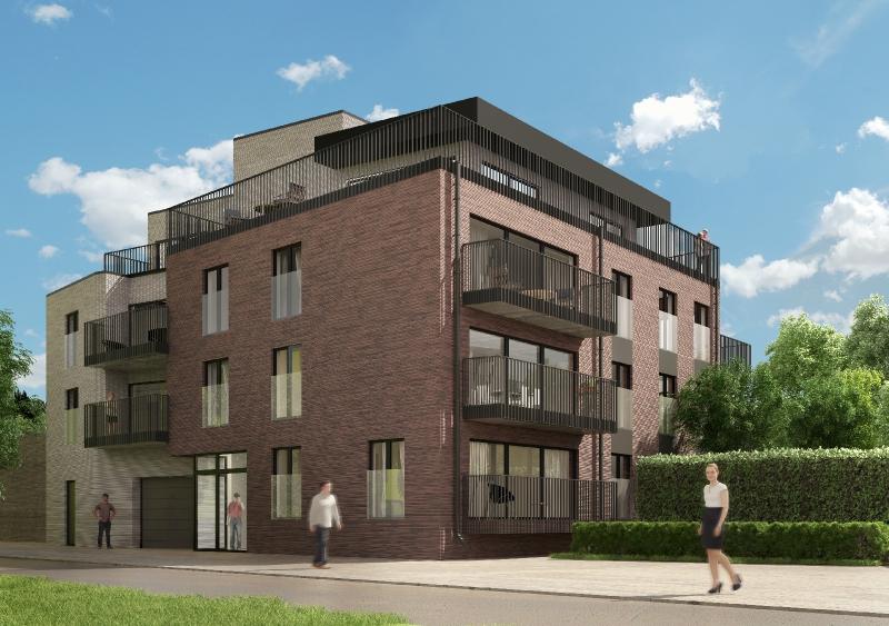 Exclusief nieuwbouw tweeslaapkamer appartement op unieke ligging te Brugge.
