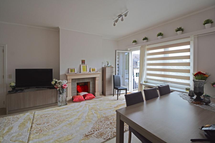 Uniek gelegen appartement met 2 slaapkamers en terras.