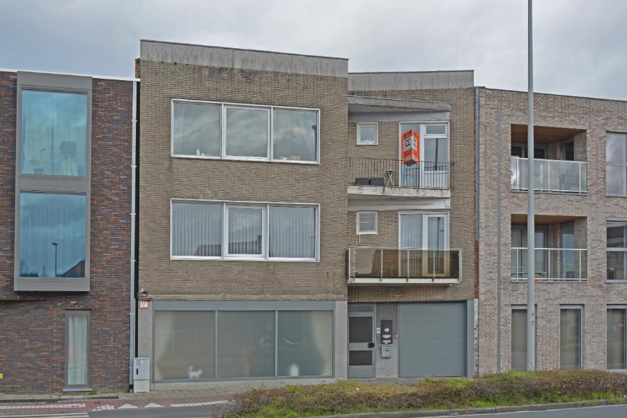 Zeer gunstig gelegen drie slaapkamer appartement te Brugge.