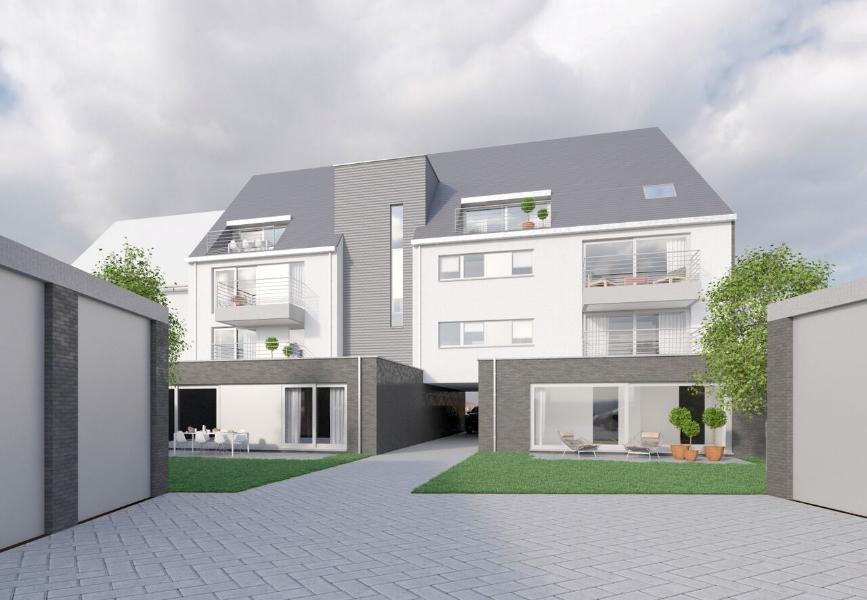 Gelijkvloers appartement A0.1 met privatieve tuin!