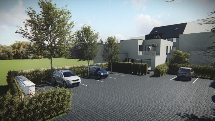 Nieuwbouw 1 slaapkamer appartement met terras te Zottegem