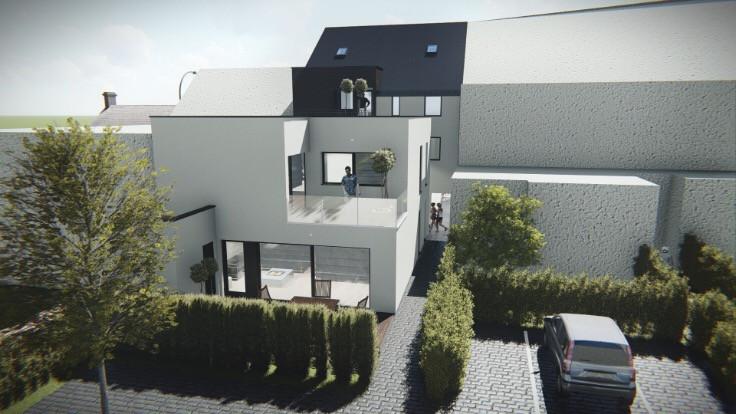 Nieuwbouw 2 slaapkamer appartement met terras te Zottegem