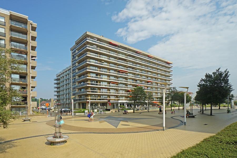 Ruim tweekamerappartement met terras in De Panne