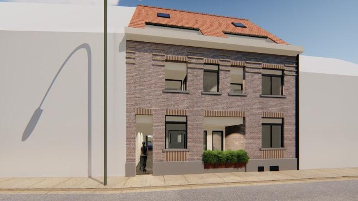 Nieuwbouw 2 slaapkamer duplex met terras te Zottegem