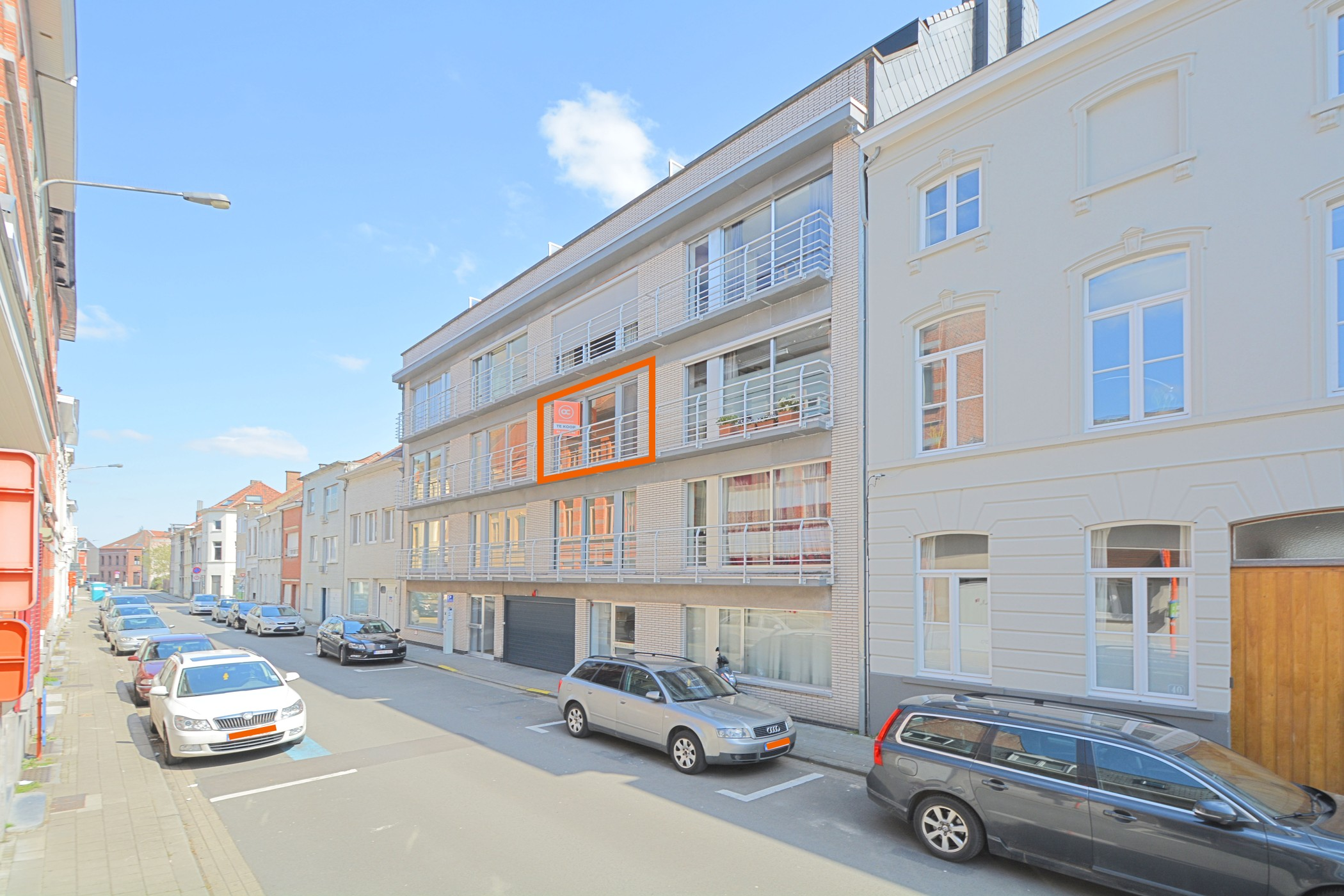 Gemeubeld goed gelegen appartement te Kortrijk