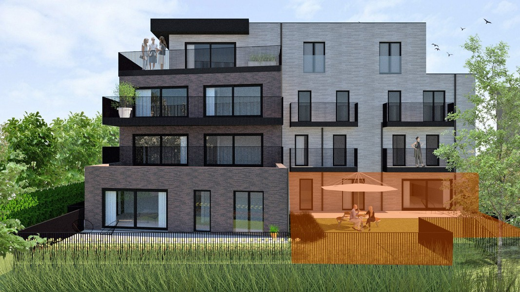 Gelijkvloers tweeslaapkamer appartement op topligging langs de Kolenkaai (6% BTW mogelijk!) -  - NVB096app0.1
