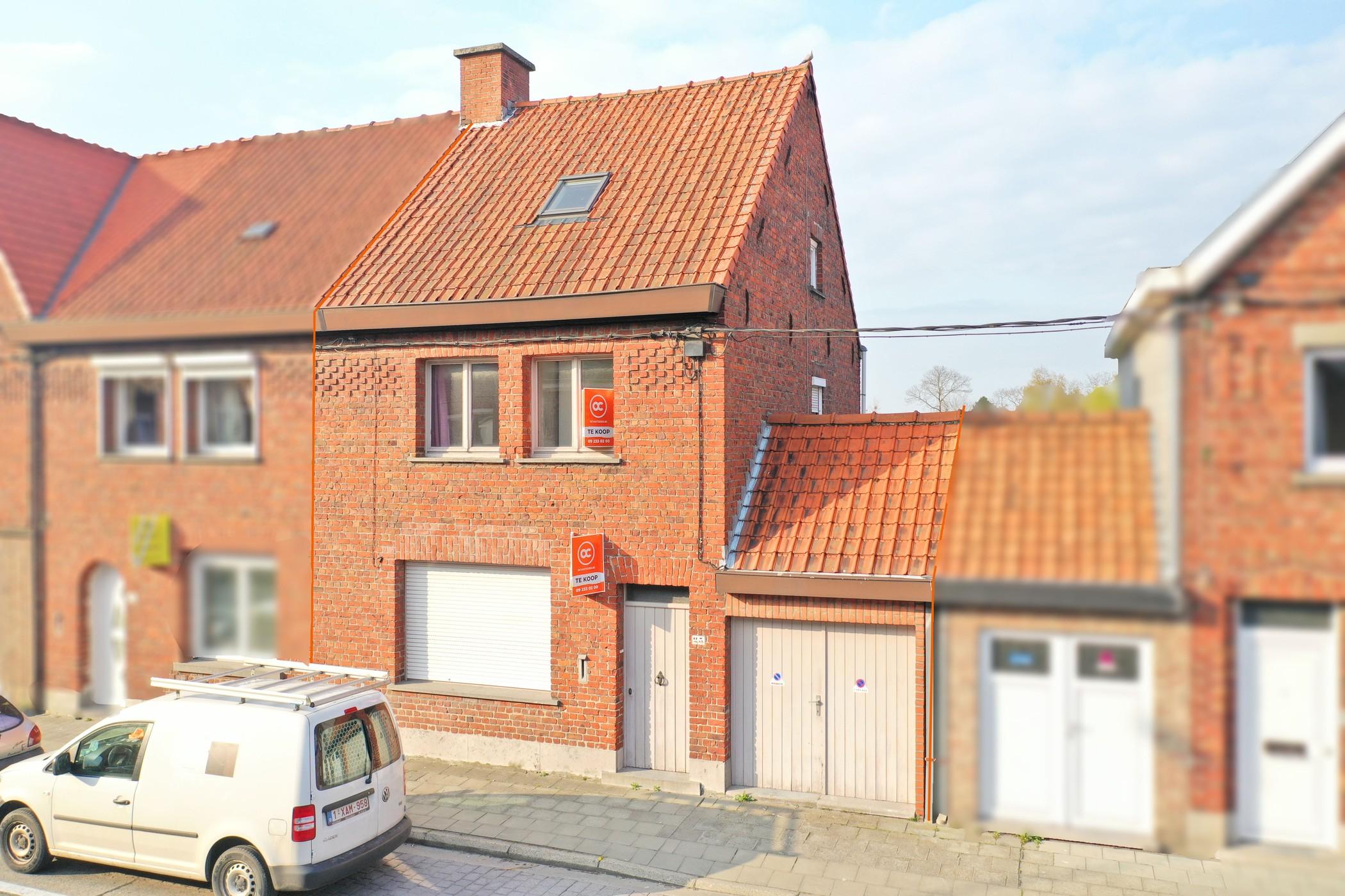 Rustig gelegen woning met 4 slaapkamers in Roeselare