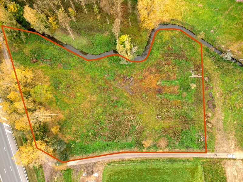 Perceel bosgrond van 9.972m² te Ottergem